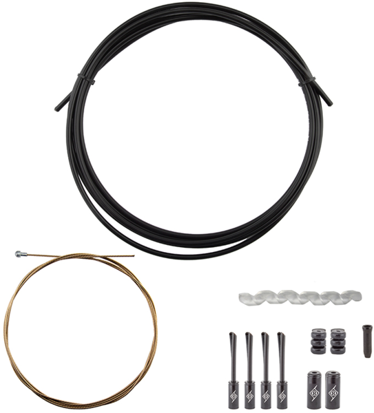 Origin8 SuperSlick Compressionless 1x Gear Cable/Housing Kit