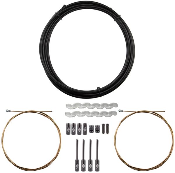 Origin8 SuperSlick Compressionless MTB Brake Cable/Housing Kit