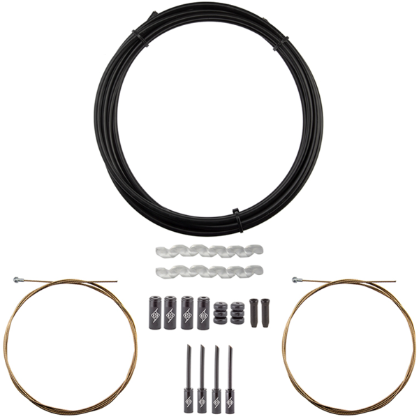 Origin8 SuperSlick Compressionless Road Brake Cable/Housing Kit