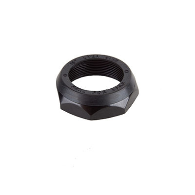 Origin8 Threaded Lock Nut - Bag of 10 Steerer Diameter: 1-1/8-inch