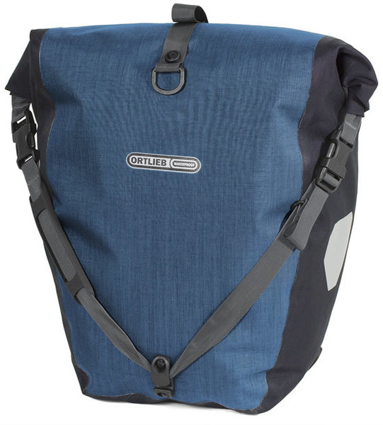 Ortlieb Back-Roller Plus Color: Denim/Steel Blue