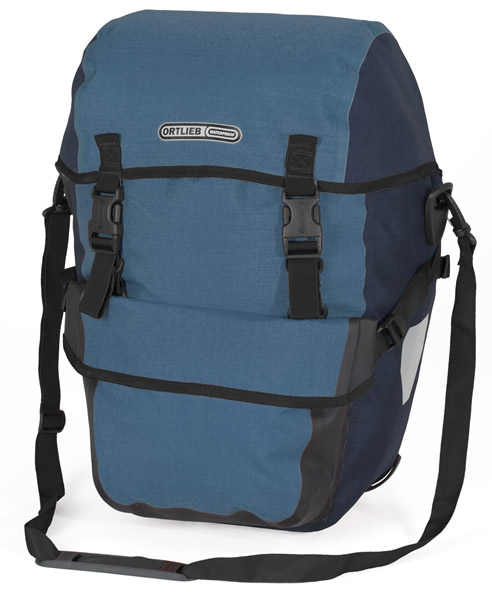 Ortlieb Bike-Packer Plus (pair) Color: Denim-Steelblue