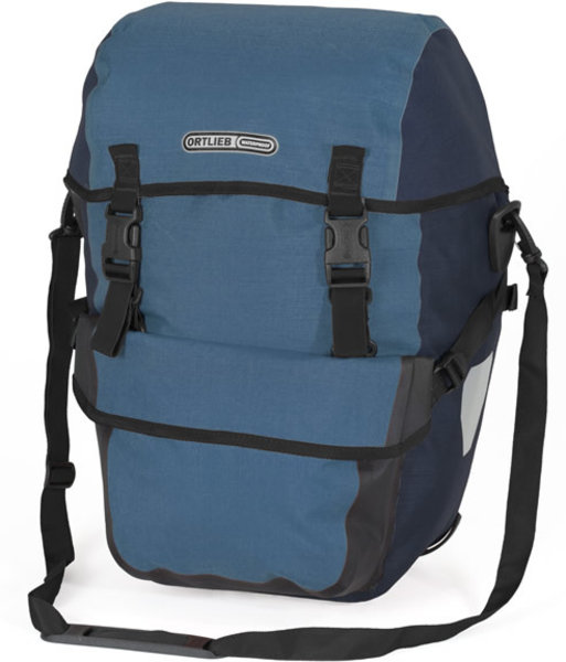 Ortlieb Bike-Packer Plus Color: Denim/Steel Blue