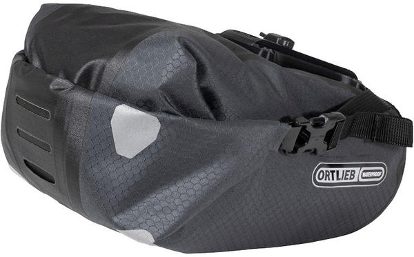 Ortlieb Saddle-Bag Two Color | Gear Capacity: Slate-Black | 1.6L