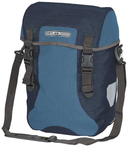 Ortlieb Sport-Packer Plus (pair) Color: Denim-Steelblue