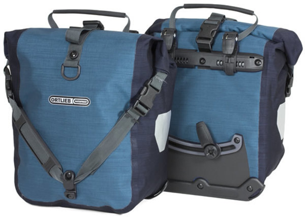Ortlieb Sport-Roller Plus Color: Denim/Steel Blue