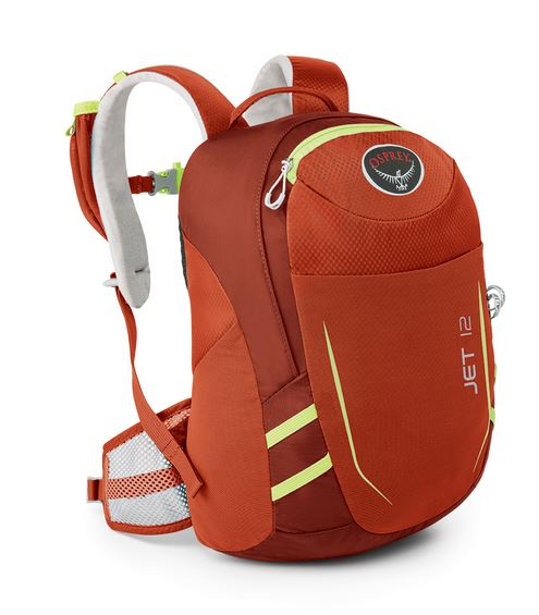 Osprey Jet 12 - Kids Color: Strawberry Red
