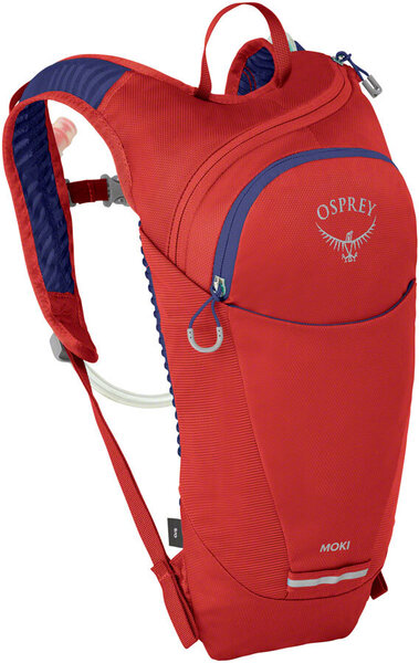 Osprey Moki Kid's Hydration Pack Color: Ventana Red