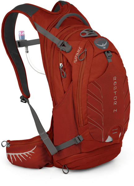 Osprey Raptor 14 Color: Madcap Red