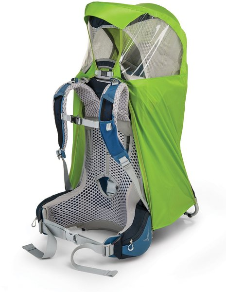 Osprey Poco AG Rain Cover Color: Hi-Vis Green