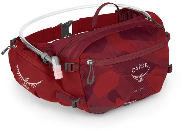 Osprey Seral With 1.5L Reservoir Color: Molten Red