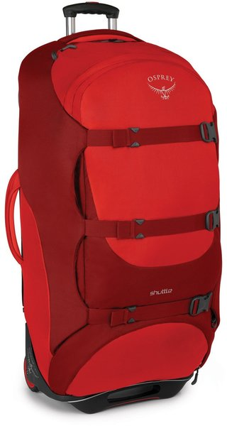 "Osprey Shuttle 130L/36"" Color: Diablo Red"