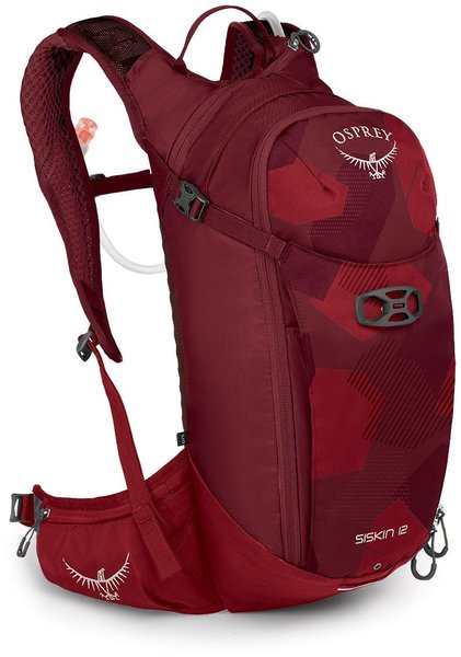 Osprey Siskin 12 Color: Molten Red