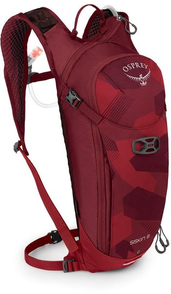 Osprey Siskin 8 Color: Molten Red