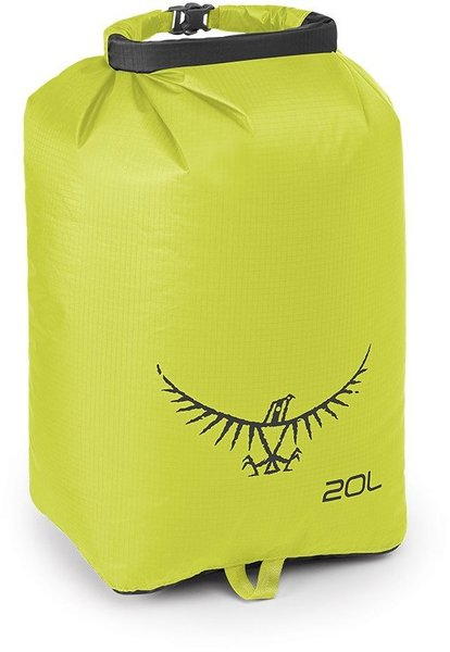 Osprey Ultralight Dry Sack 20 Liter Color: Electric Lime
