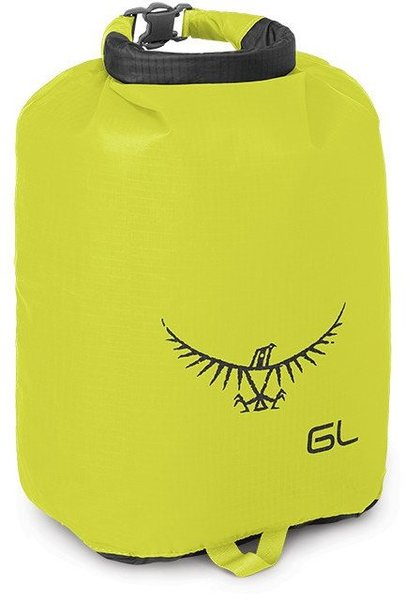 Osprey Ultralight Dry Sack 6 Liter Color: Electric Lime