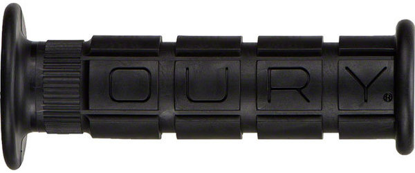 Oury Single Compound w/Flange Color: Black