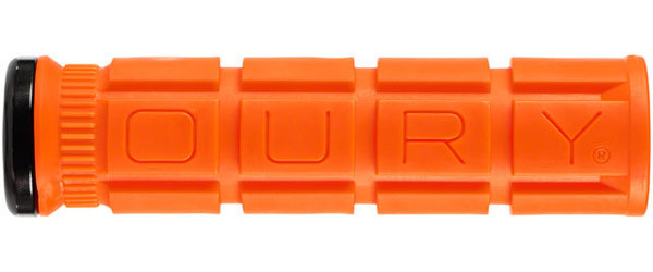 Oury Lock-On V2 Grips Color: Blaze Orange