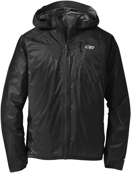 Outdoor Research Helium II Jacket Color: Black/Storm