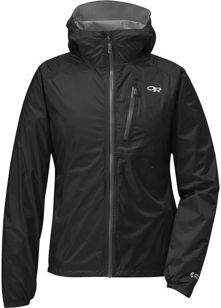 Outdoor Research Helium II Jacket Color: Black/Charcoal