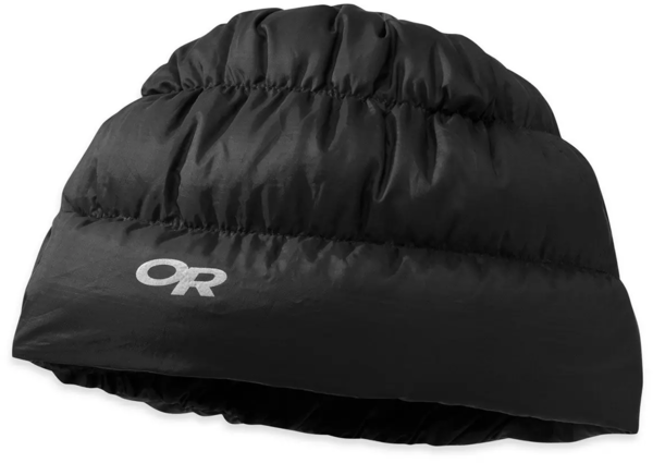 Outdoor Research Transcendent Down Beanie Color: Black