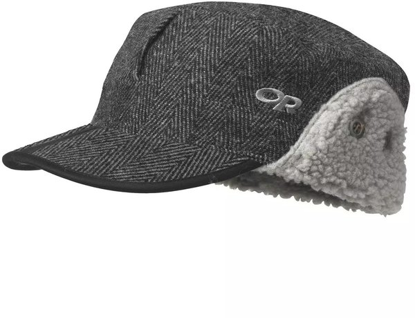 Outdoor Research Yukon Cap Color: Charcoal Herringbone