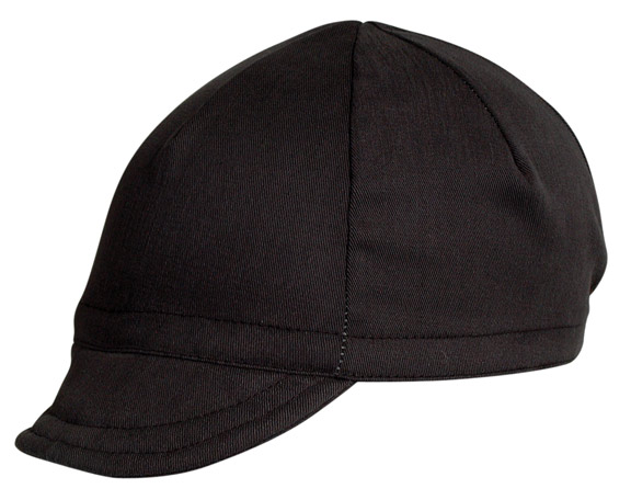 Pace Sportswear Euro Soft Bill Cycling Cap Color: Black