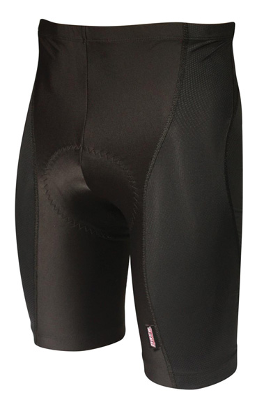Pace Sportswear Diamond Coldblack Curve 8-Panel Shorts Color: Black