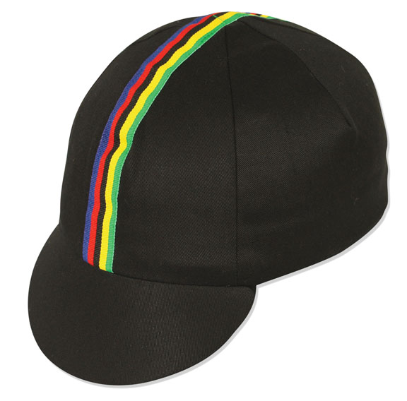 Pace Sportswear World Champion Cycling Cap Color: Black