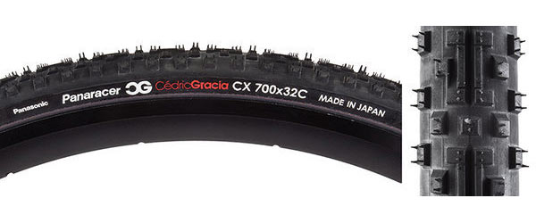 Panaracer CG CX 700c Color: Black/Black