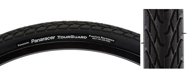 Panaracer TourGuard 26-inch Color: Black/Black