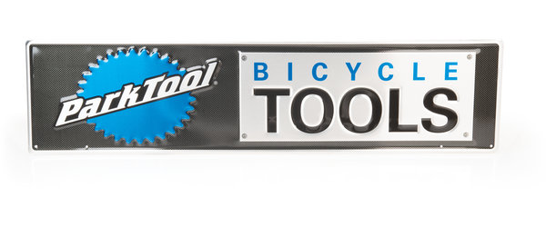 Park Tool Metal Bicycle Tools Sign