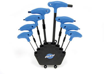 Park Tool P-Handled Hex Wrench Set