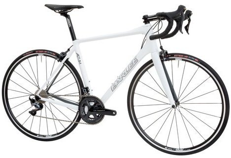 Parlee Cycles Altum Ultegra Color: White w/Black