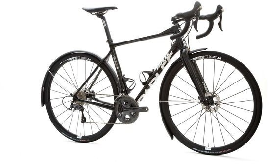 Parlee Cycles Chebacco 4S SE Ultegra Color: Trident Black w/Parlee reflective logo package