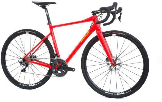 Parlee Cycles Chebacco Ultegra Color: Enzo Red w/PC Orange