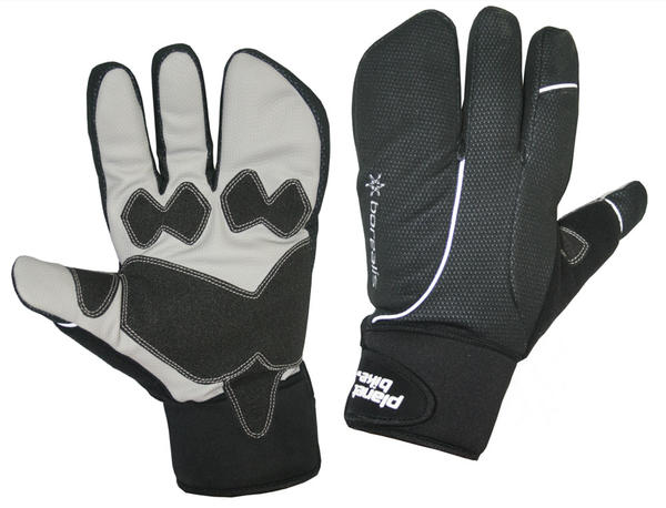 Planet Bike Borealis Gloves Color: Black/Grey