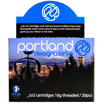Portland Design Works Co2 Cartridge 20 Pack