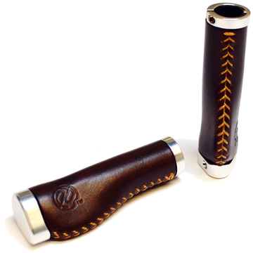 Portland Design Works Whiskey Grips Color: Brown