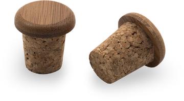 Portland Design Works Bamboo/Cork Bar Plugs