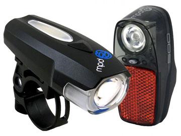 Portland Design Works Spaceship Headlight/Radbot 500 Taillight Set