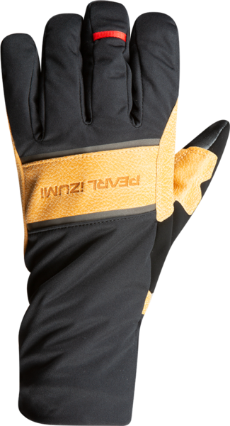 Pearl Izumi AmFIB Gel Glove Color: Black/Dark Tan