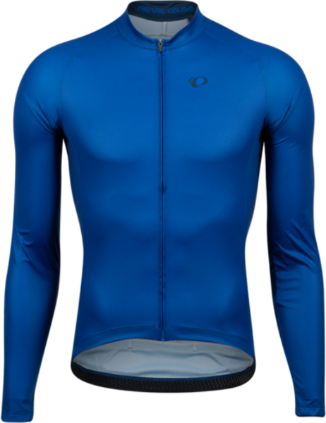 Pearl Izumi Men's Attack Long-Sleeve Jersey Color: Lapis/Navy Triad
