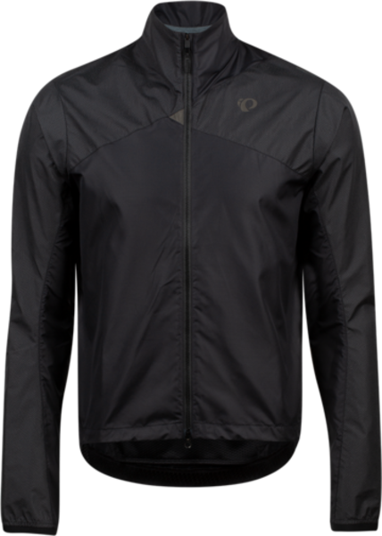 Pearl Izumi Men's Bioviz Barrier Jacket Color: Black/Reflective Triad