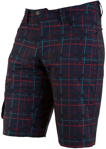 Pearl Izumi Men's Canyon Short Color: Eclipse Blue Plaid