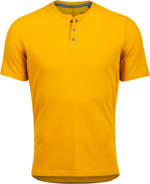 Pearl Izumi Men's Coast Henley Color: Gold