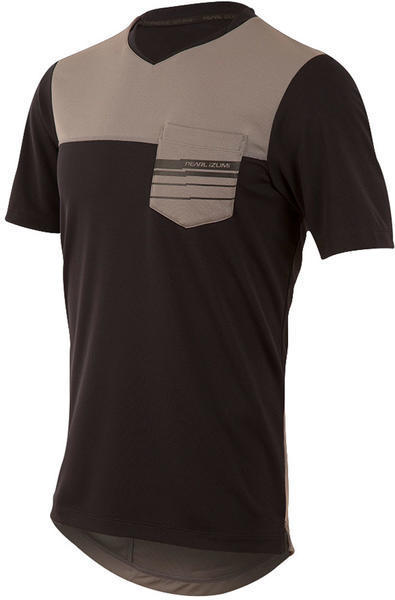 Pearl Izumi Men's Divide Top Color: Black/Smoked Pearl