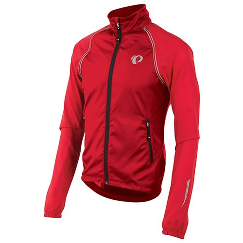 Pearl Izumi Elite Barrier Convertible Jacket Color: True Red
