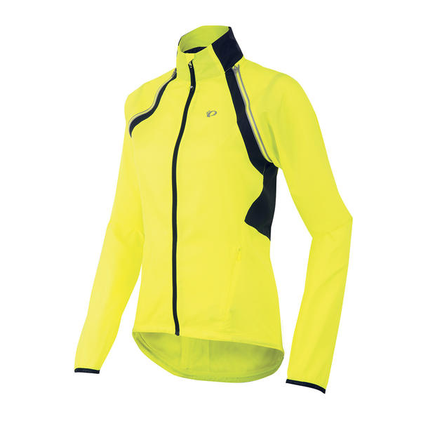Pearl Izumi ELITE Barrier Convertible Jacket Color: Screaming Yellow