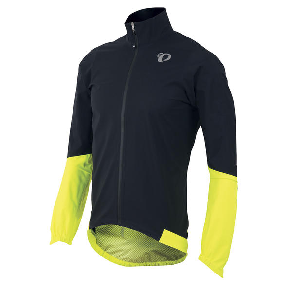 Pearl Izumi Elite WxB Jacket Color: Black/Screaming Yellow